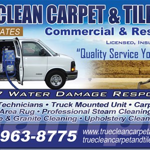 True Clean Carpet & Tile Care Logo