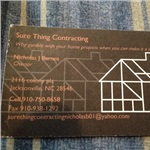 Sure Thing Contracting Cover Photo
