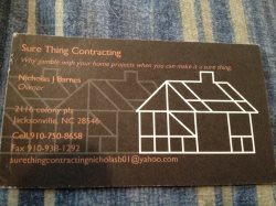 Sure Thing Contracting Logo