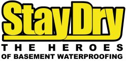 Stay Dry Basement Waterproofing Inc Logo