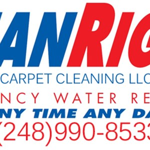 Clean Right Carpet Cleaning Logo