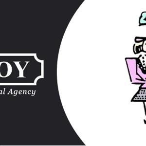Maid With Joy Logo