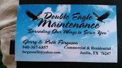 Double Eagle Maintenance Logo