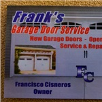 Franks Garage Door Service Logo