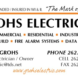 Grohs Electric LLC Logo