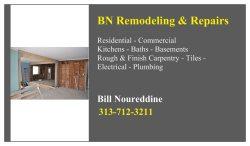 Bn Remodeling & Repairs Logo
