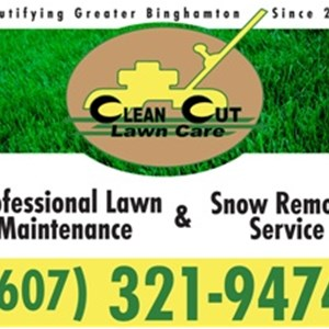 Clean Cut Lawn Care Logo