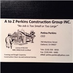 A To Z Perkins Construction Group Inc Logo