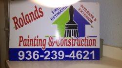 Rolands Painting & Construction Logo