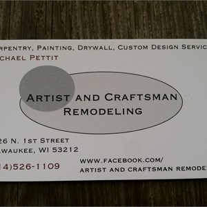 Artist & Craftsman Remodeling Cover Photo