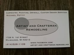 Artist & Craftsman Remodeling Logo