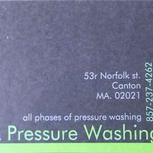 Jtl Pressure Washing Logo