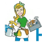 Spring Cleaning Services Company Logo