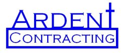 Ardent Contracting, Inc. Logo