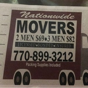 Nationwide Movers Logo