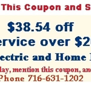 Dr. Electric and Home Repair Logo