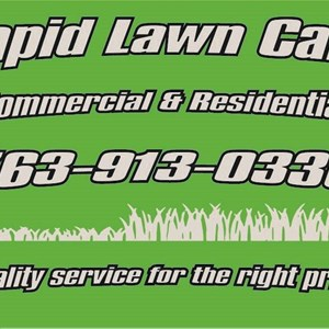 Rapid Lawn Care Logo