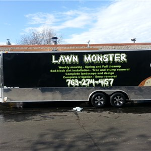 Lawn Monster of Minneapolis Logo