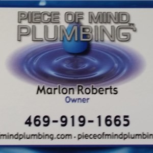 Piece of Mind Plumbing Logo