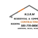 NSRM Roofing/siding/painting/home Improvement Logo