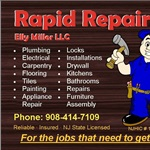 Rapid Repairs - Plumbing and Handyman Logo
