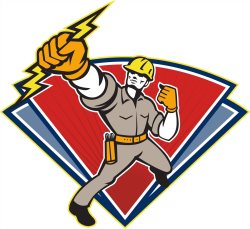 Aarons Electrical Service Logo
