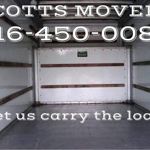 Scotts Movers/ Delivery Service Logo