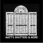 Matts Shutters & More Logo