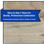 1 Vision Construction Company, Inc Cover Photo