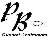 PB General Contractors Logo