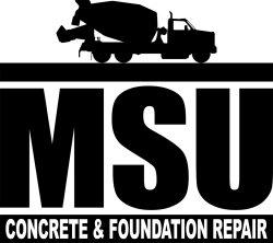 MSU Concrete & Foundation Repair, LLC Logo