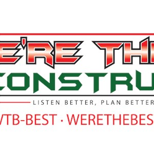 Were The Best Construction Logo