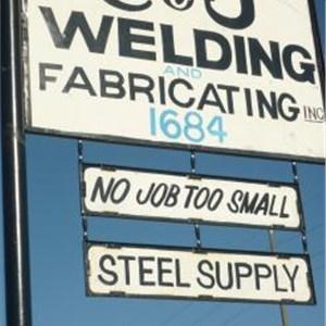 C & J Welding & Fabricating Logo