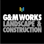 G&M Works Landscape & Construction Logo
