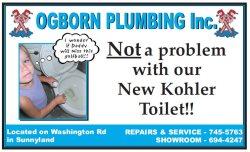 Ogborn Plumbing Inc Logo