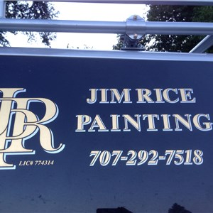 Jim Rice Painting Logo