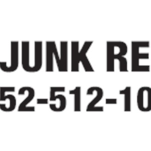 Hunks Removing Junk Logo