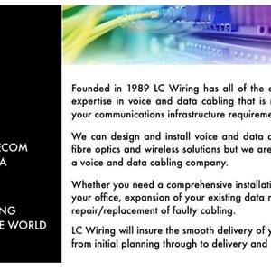 L Wiring, Inc Logo