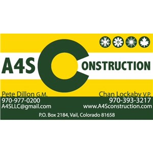 A4S Construction Cover Photo