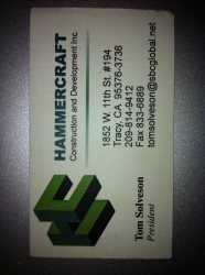 Hammercraft Construction and Development Inc. Logo