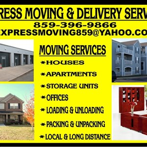 Express Moving and Delivery Services Logo