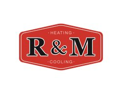 R & M Heating and Cooling Logo