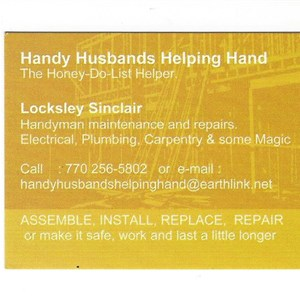 Handy Husbands Helping Hand Logo