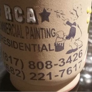 Rca Commercial Painting Logo