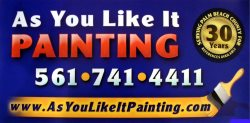 As You Like It Painting Company, Inc. Logo