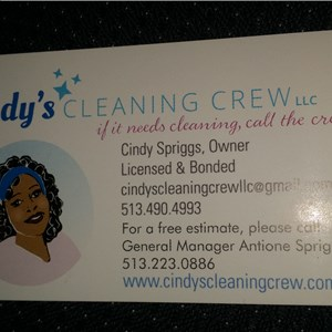 Cindys Cleaning Crew, LLC Logo