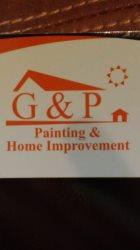 G&p  Home Improvement Logo