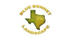 Blue Bonnet Landscape Logo