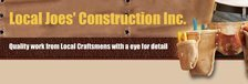 Local Joes Construction, Inc. Logo