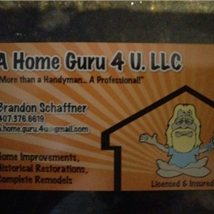 A Home Guru 4 U. Llc. Logo